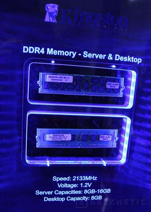 Primeros módulos DDR4 de Kingston, Imagen 1