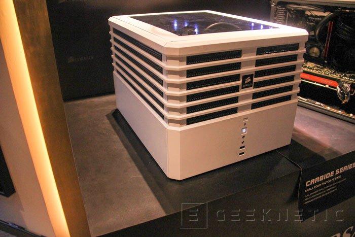 Corsair Carbide Series Air 240, nueva torre Mini ITX para equipos potentes, Imagen 1