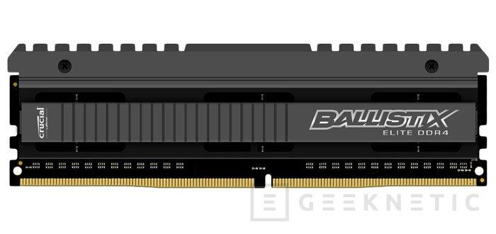 Crucial Ballistix Elite, DDR4 para gamers, Imagen 1