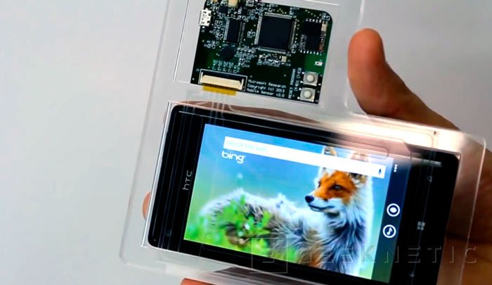 Microsot lanzará un Windows Phone con control 3D, Imagen 1