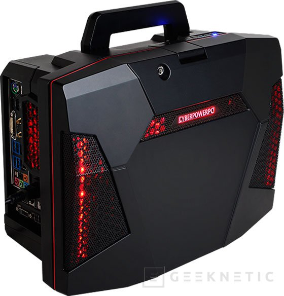 CyberpowerPC FANG Battlebox, un PC de gama alta dentro de un maletín, Imagen 1