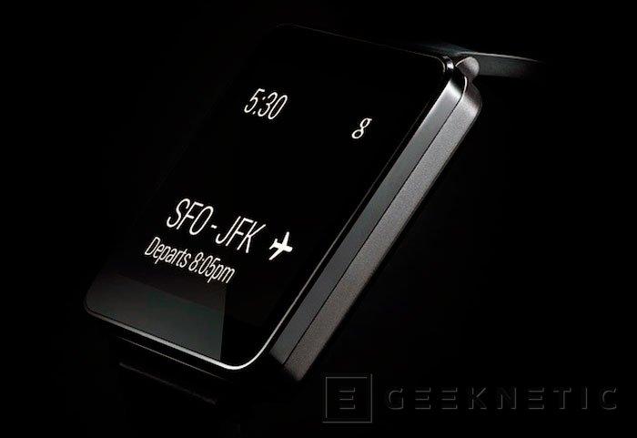 Desveladas las especificaciones del LG G Watch, Imagen 1