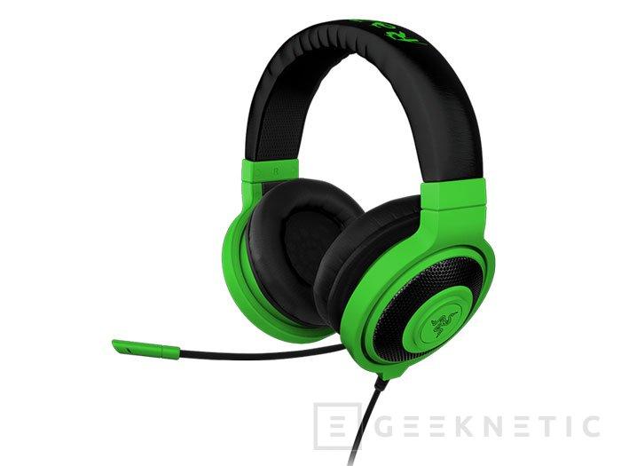 Razer Kraken Pro Neon: Auriculares gaming multicolor, Imagen 2
