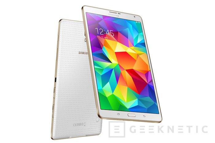 Samsung lanza los nuevos Galaxy Tab S con perfil ultrafino y resolución WQXGA, Imagen 2