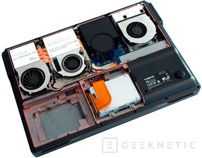 Eurocom Phanter 5: el portátil más potente del mundo, Imagen 2