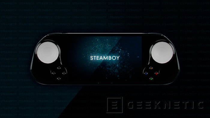 SteamBoy, una Steam Machine de bolsillo, Imagen 2