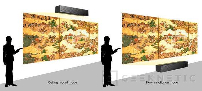 Sony VPL-GTZ1: un nuevo proyector 4K de proyección a corta distancia, Imagen 1