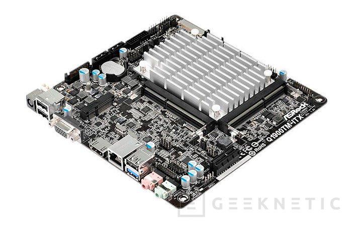 ASRock Q1900TM-ITX, placa base ITX con SoC integrado, Imagen 1