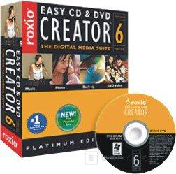 Easy CD y DVD Creator 6.2 Platinum de Roxio, Imagen 1