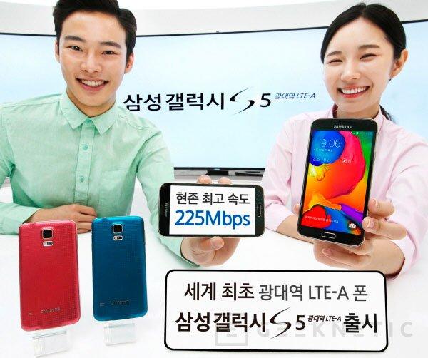 Samsung presenta el Galaxy S5 LTE-A, lo que debió haber sido el Galaxy S5, Imagen 1