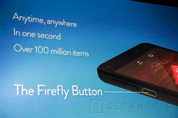 Amazon Fire Phone, Imagen 3
