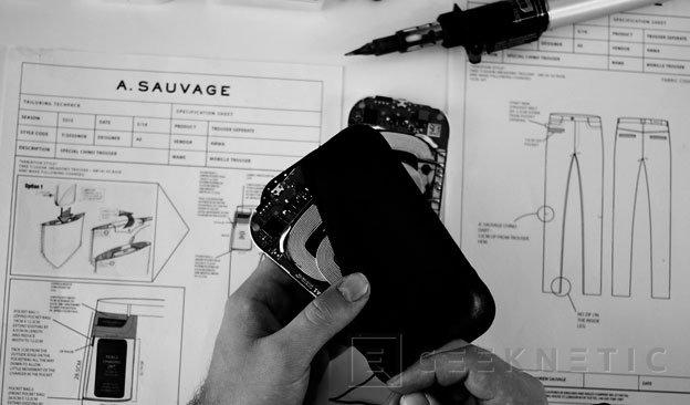 Nokia muestra unos pantalones con carga inalámbrica, Imagen 2