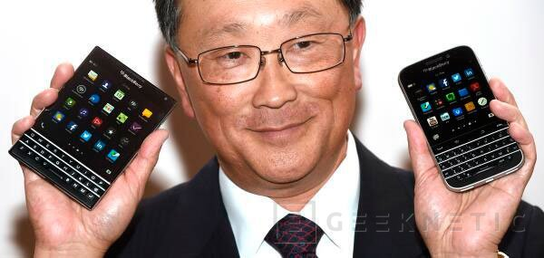 Blackberry Passport, el smartphone cuadrado, Imagen 1
