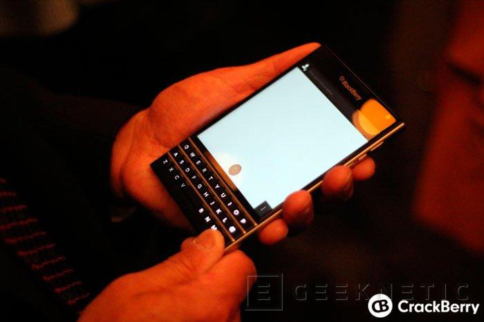 Blackberry Passport, el smartphone cuadrado, Imagen 2