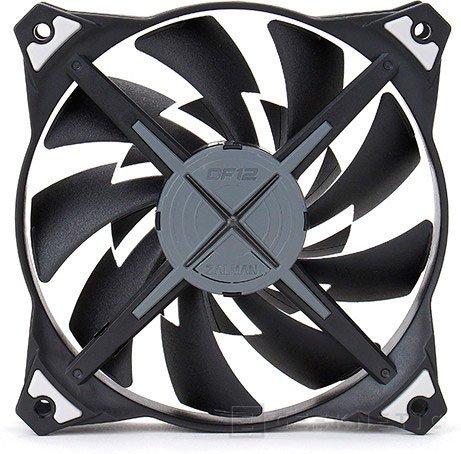 Zalman lanza sus ventiladores de doble aspa ZM-DF12, Imagen 1
