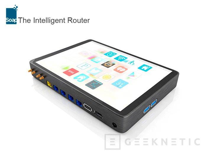 Soap, un router táctil con Android en su interior, Imagen 3