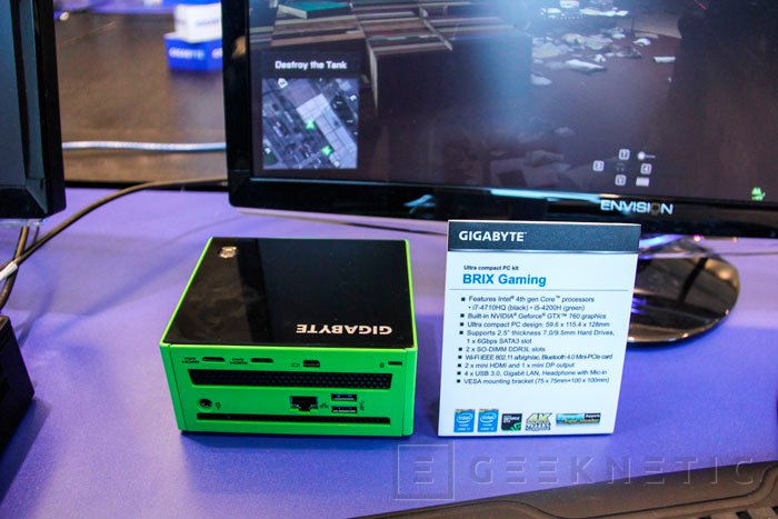 Gigabyte BRIX Gaming DIY con Geforce GTX 760, Imagen 2