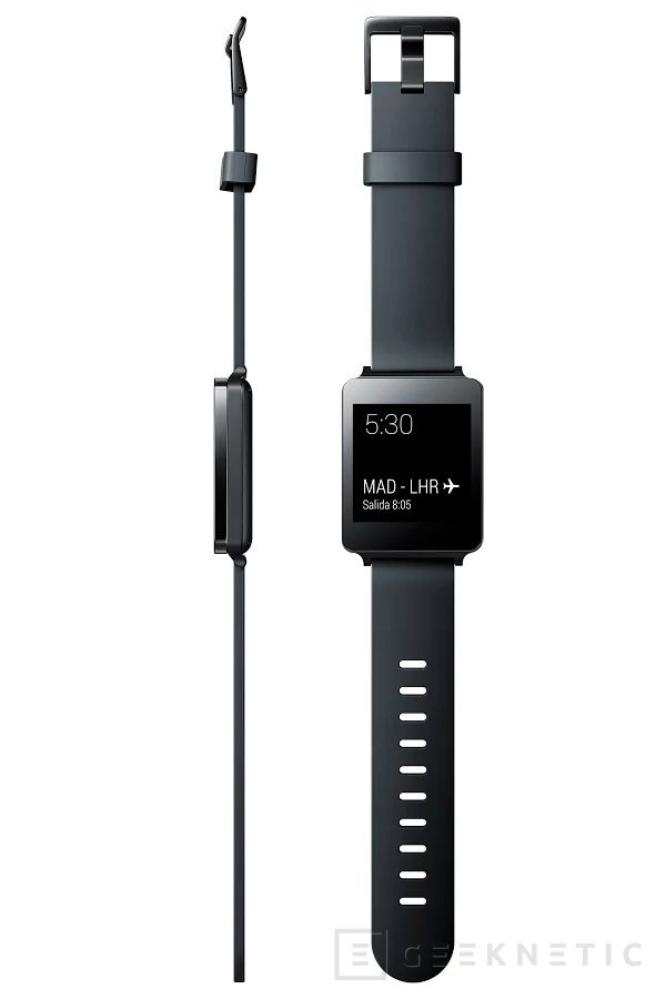 LG también pone a la venta su G Watch, Imagen 2
