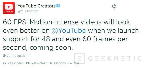Youtube soportará vídeos a 60 FPS, Imagen 1