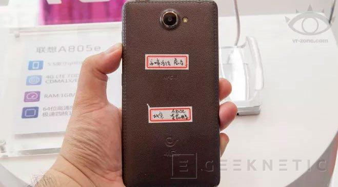 Lenovo A805e, un smartphone de 64 bits por menos de 200 Dólares, Imagen 2
