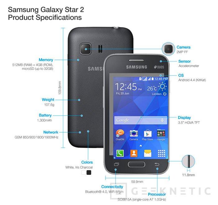 Samsung renueva su gama baja de terminales con tres nuevos modelos, Imagen 1