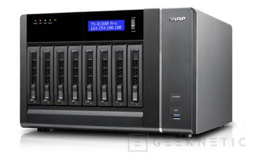 Nuevos NAS de altas prestaciones QNAP Turbo NAS TS-ECx80 PRO series, Imagen 1