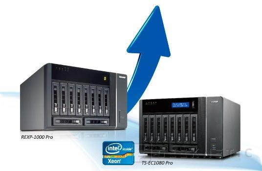 Nuevos NAS de altas prestaciones QNAP Turbo NAS TS-ECx80 PRO series, Imagen 2