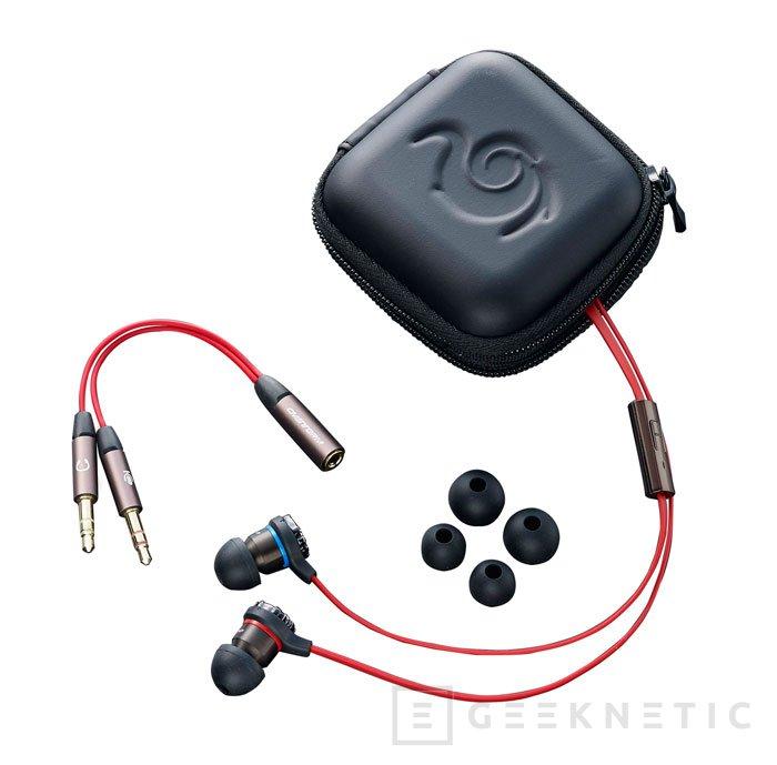CM Storm Resonar, auriculares gaming in-ear, Imagen 1