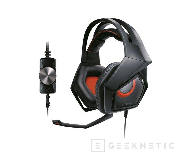 Llegan a España los auriculares gaming Strix Pro de ASUS, Imagen 1