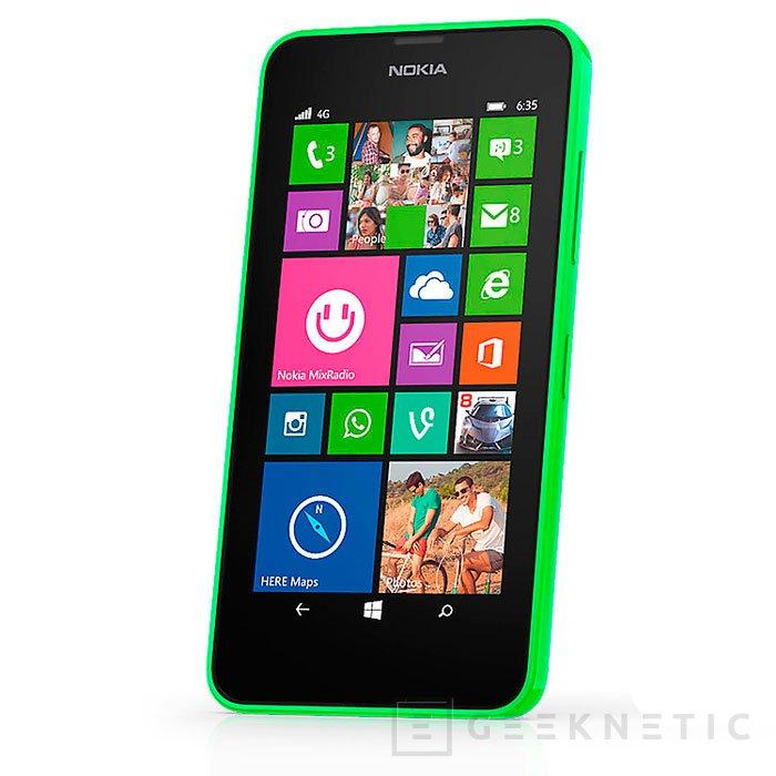 Nokia lanza el Lumia 635, un Smartphone 4G asequible, Imagen 1