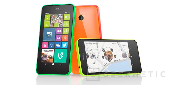 Nokia lanza el Lumia 635, un Smartphone 4G asequible, Imagen 3