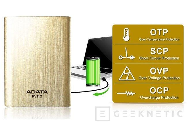 ADATA peresenta un powerbank con salida de 3,1 Amperios, Imagen 2