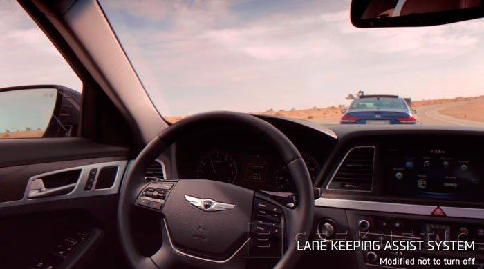 Hyundai muestra su sistema de conducción automática, Imagen 1