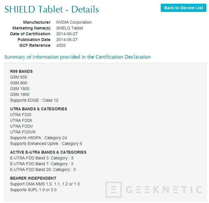 La SHIELD de NVIDIA recibirá una sucesora en forma de tablet, Imagen 1