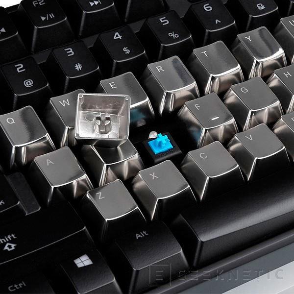 Tt eSPORT METALCAPS, teclas metálicas para personalizar tu teclado, Imagen 2