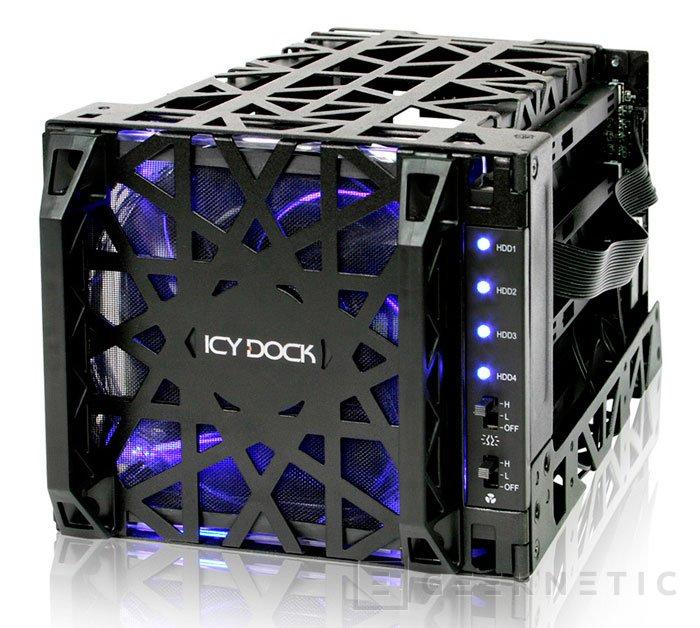 ICY DOCK presenta un módulo para integrar discos duros en las bahías de 5,25, Imagen 1