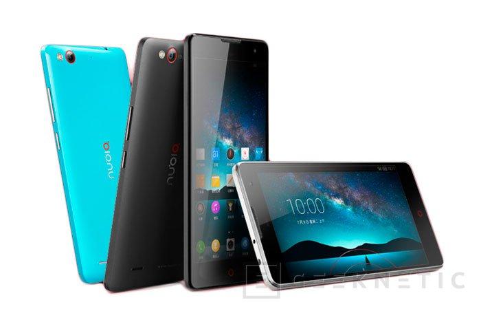 ZTE presenta el Nubia Z7 en tres versiones diferentes, Imagen 3