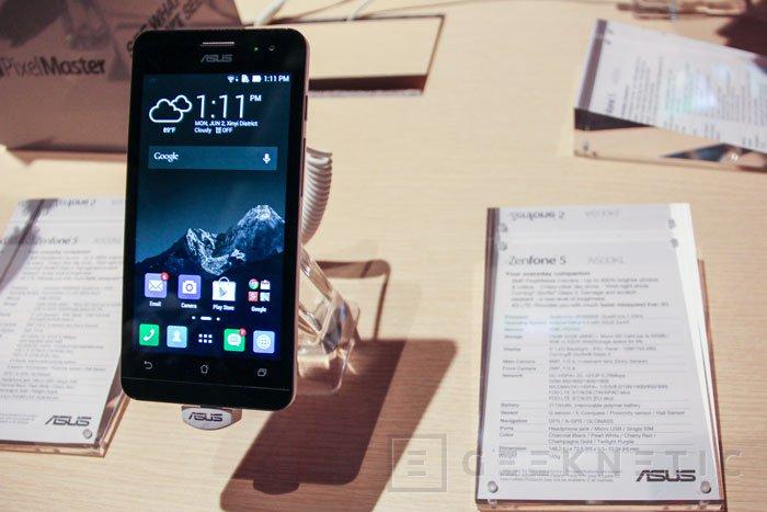 ASUS lanza el PadFone S y el ZenFone 5 con LTE, Imagen 3