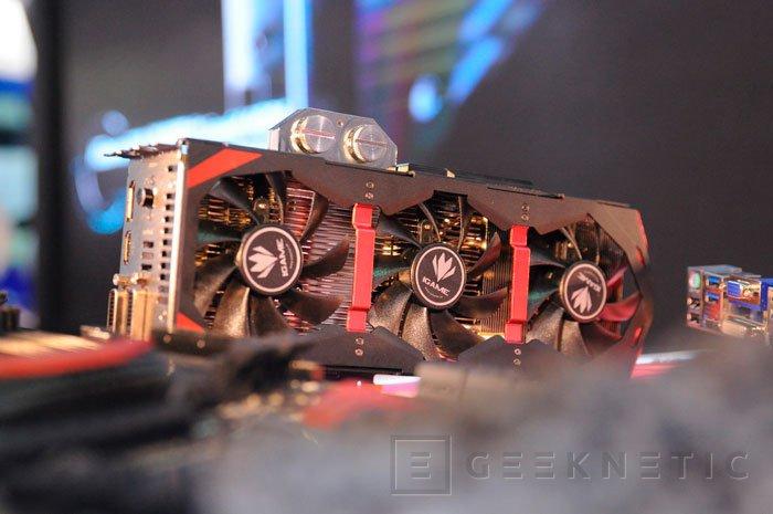 Colorful muestra un curioso diseño de refrigeración modular para sus próximas GTX 800, Imagen 2