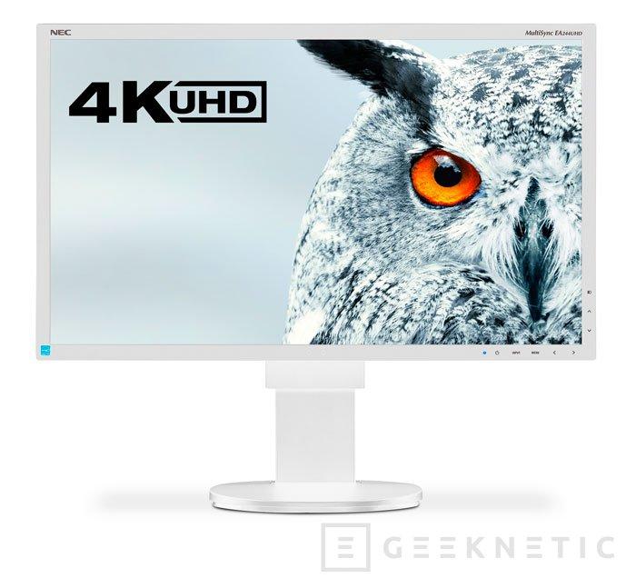 NEC tiene otro nuevo monitor 4K con panel IPS, Imagen 2