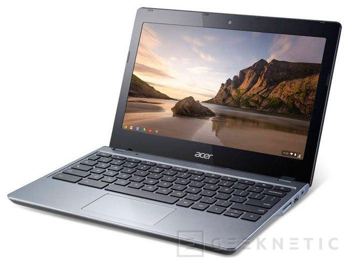 Acer actualiza su Chromebook C720 con procesadores Intel Core, Imagen 1