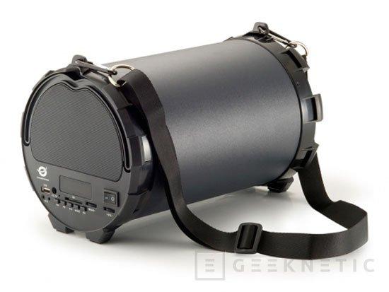 Conceptronic integra un subwoofer en sus nuevos altavoces inalámbricos, Imagen 1