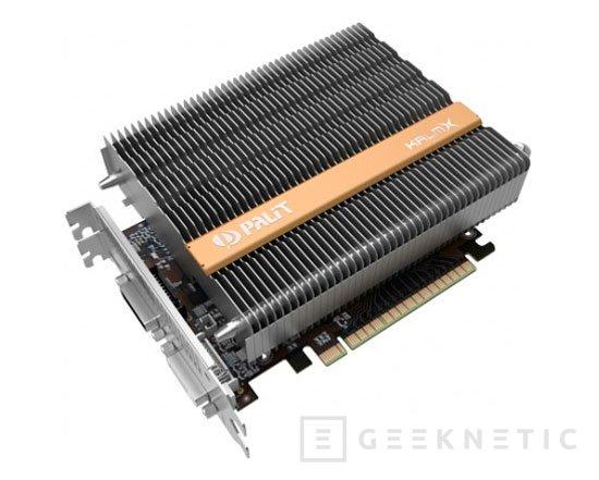 Palit ya tiene sus GTX 750Ti y GTX 750 con refrigeración pasiva, Imagen 1