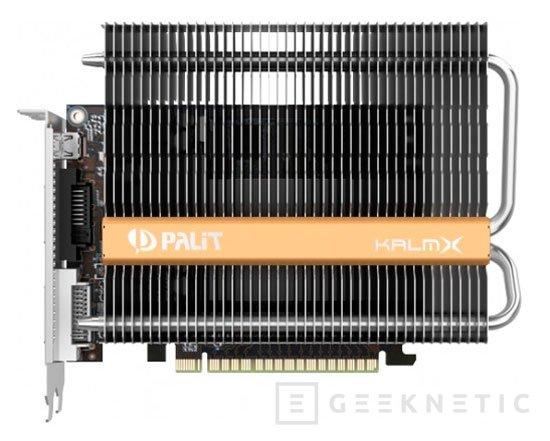Palit ya tiene sus GTX 750Ti y GTX 750 con refrigeración pasiva, Imagen 2