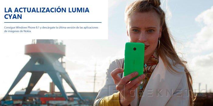 Nokia lanza la actualización Lumia Cyan junto con Windows Phone 8.1, Imagen 1