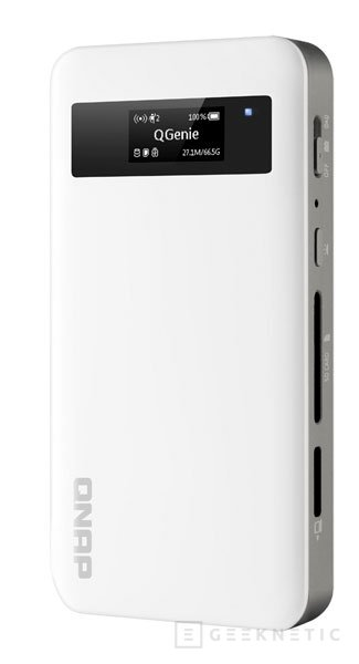 QNAP QGenie, un NAS portátil pensado para complementar al smartphone, Imagen 1