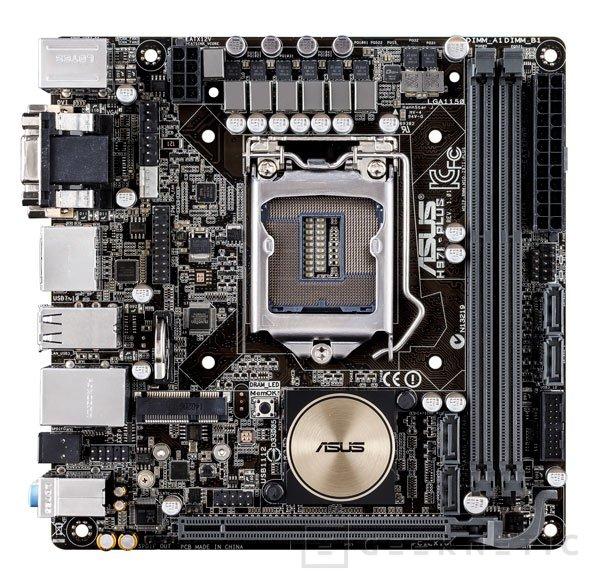 Llega a España la primera placa base Z97 de ASUS con formato Mini-ITX , Imagen 2