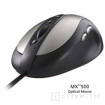 Nueva gama de ratones ópticos logitech, Imagen 2