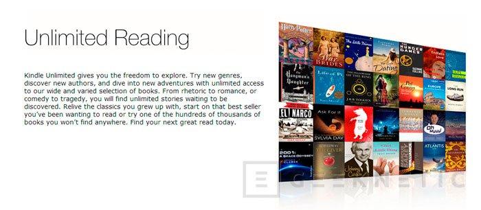 Amazon lanza Kindle Unlimited, el Spotify de los eBooks, Imagen 2