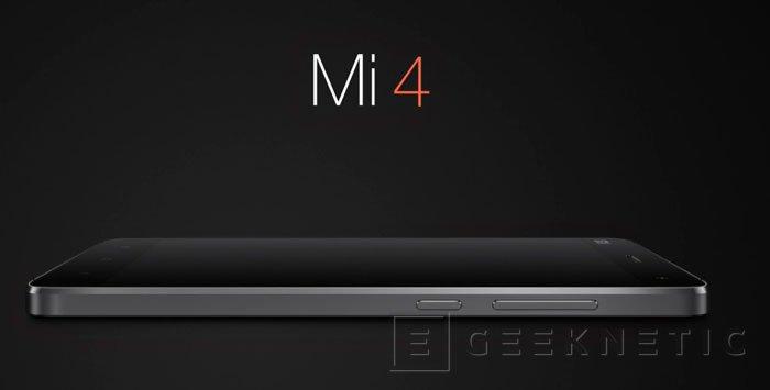 Xiaomi Mi 4, un smartphone de gama alta realmente asequible, Imagen 2